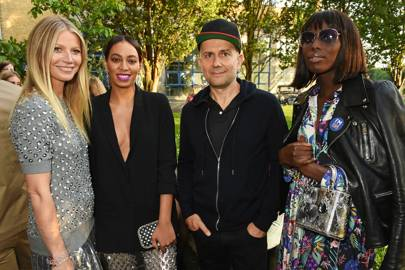 Gwyneth Paltrow, Solange Knowles, Marc Quinn and Jenny Bastet