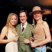 Natalie Stenmark, Sebastian St John Parker and Baroness Louise von Blixen