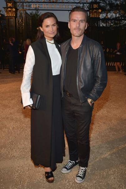 Rosetta Millington and Balthazar Getty
