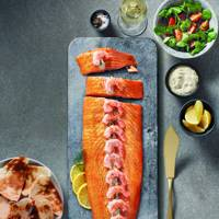 Aldi oak-roasted dressed Scottish side of salmon