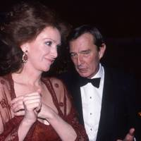 Ann Getty and the Duke of Badajoz