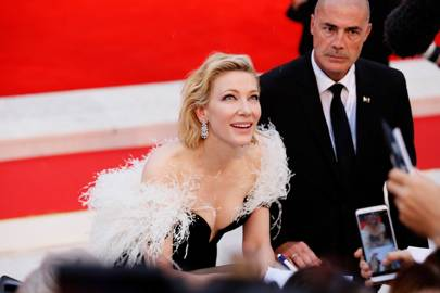 Cate Blanchett at the A Star Is Born premiere