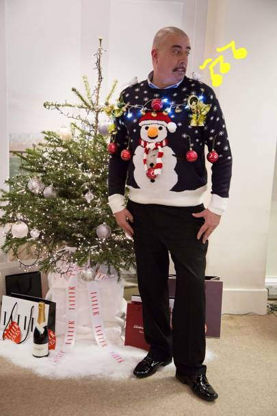 Martin 'I Didn't Even Know It Was Christmas Jumper Day' Griffin