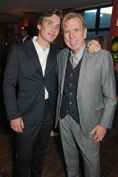 Cillian Murphy and Timothy Spall
