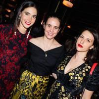 Viola Arrivabene, Daria d'Ornano and Madina Visconti