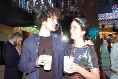 Simon Butcher and Anna Timoney