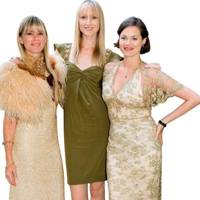Jade Parfitt, Deborah  Leng and Gawain Rainey
