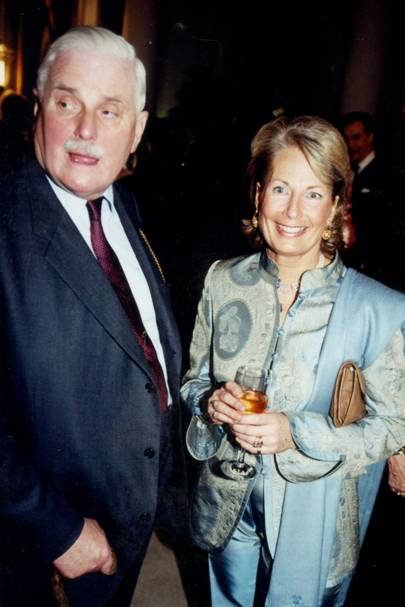 Sir James Cayzer and Mrs Barry Weatherill