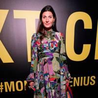 Giovanna Battaglia at the Moncler Genius show