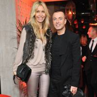 Melissa Odabash and Julien Macdonald