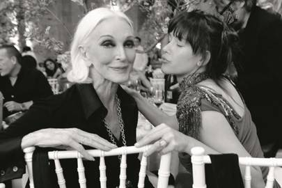 Carmen dell' Orefice and Paz de la Huerta