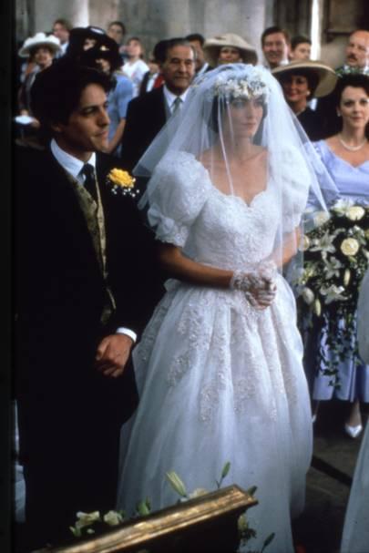 Meghan Markle Wedding Dress Best Movie Wedding Dresses Tatler