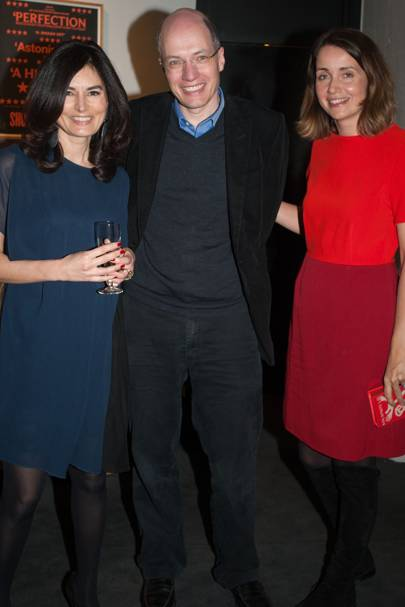 Eleonore Dresch, Alain de Botton and Charlotte de Botton