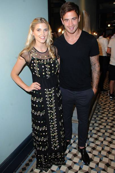 Ashley James and Danny Cipriani