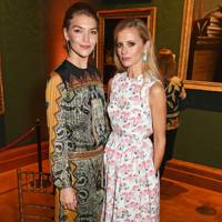 Arizona Muse and Laura Bailey