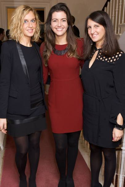 Emanuela Borgonho, Carolina Campanholi and Federica Borgonho