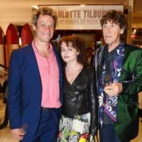 Dominic West, Helena Bonham Carter and Lance Tilbury