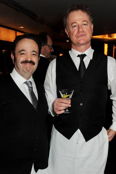 Hugh Sachs and Owen Teale