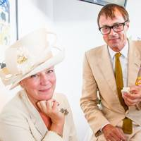 The Countess of March and Kinrara and Roddy Campbell