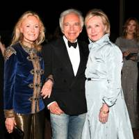 Ricky Lauren, Ralph Lauren and Hilary Clinton