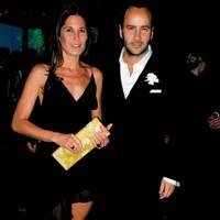 Mrs Tom Walker and Tom Ford