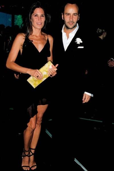 Mrs Tom Walker and Tom Ford