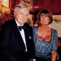 Mark Birley and Lady Annabel Goldsmith