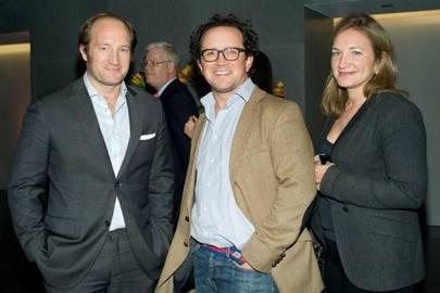Hugo van Kuffeler, Gervase Milbourn and Venetia Van Kuffeler