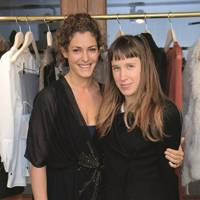 Ginevra Elkann and Lady Frances von Hofmannsthal