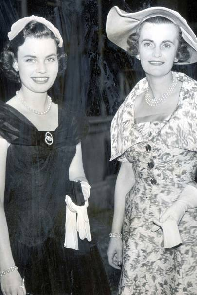With Frances At a Lancaster House Party in 1955