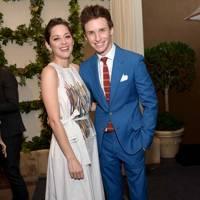 Marion Cotillard and Eddie Redmayne