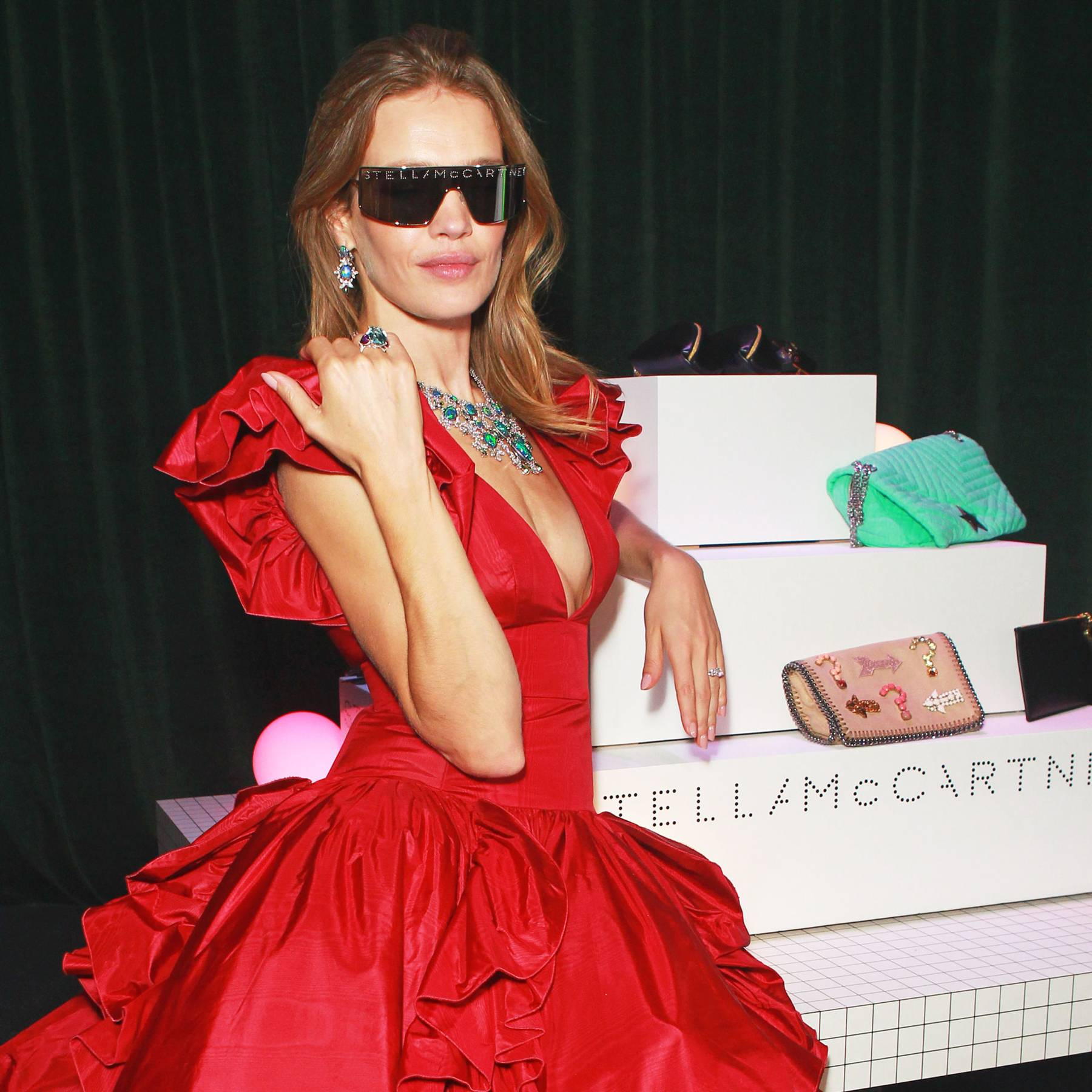 Natalia Vodianova hosts Fabulous Fund Fair Dinner in aid of Naked Heart Foundation
