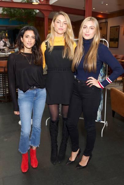 Kavita Cola, India Whalley and Lil Frieda