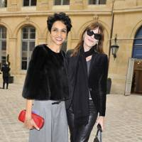 Farisa Khelfa and Carla Bruni Sarkozy