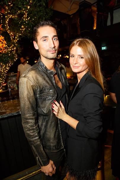 Hugo Taylor and Millie Mackintosh