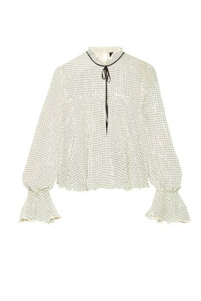 Saloni sequin shirt