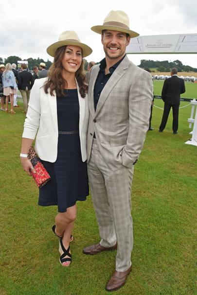 Lucy Cork and Henry Cavill