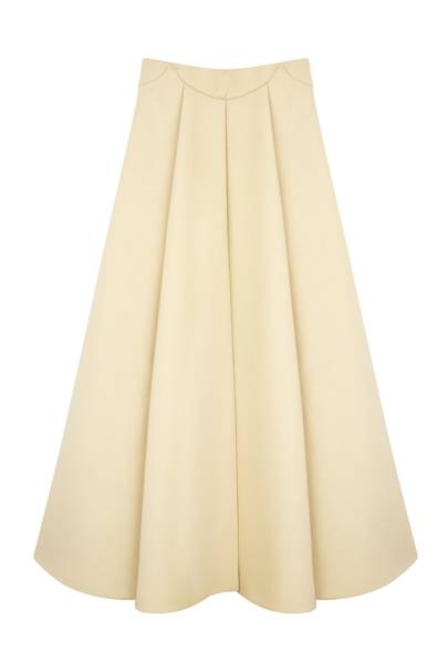 Wool skirt, £2,000, by Delpozo