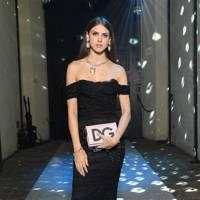 Sabrina Percy at Dolce & Gabbana A/W18
