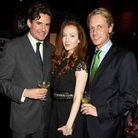 Ed Taylor, Olivia Grant and Frans von Chrismar