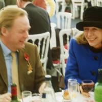 Nick Clarke and Mrs Nicholas Jones