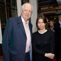 Sir Tim Rice and Lady Sarah Chatto