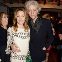 Jeanne Marine and Sir Bob Geldof
