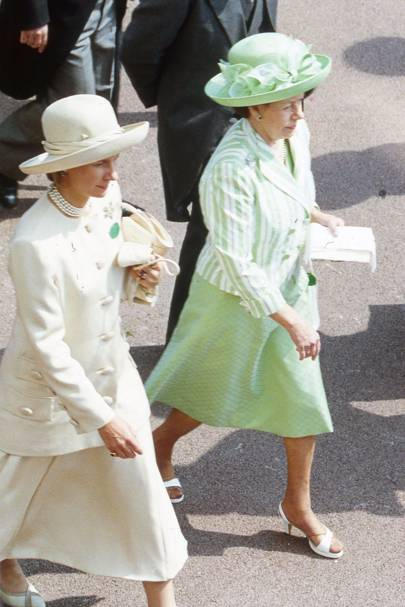 The Duchess of Gloucester and Princess Margaret