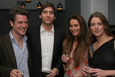 Alexis Crann, Leo Miron, Heidi Bishko and Sofia Blumencweig