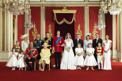 The Duke and Duchess of Cambridge's wedding portrait, 2011