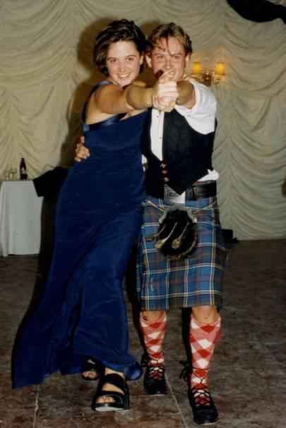 Gina May and Louis Anderson