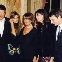 Zac Goldsmith, Mrs Imran Khan, Lady Annabel Goldsmith, Mrs Francis Pike and Ben Goldsmith