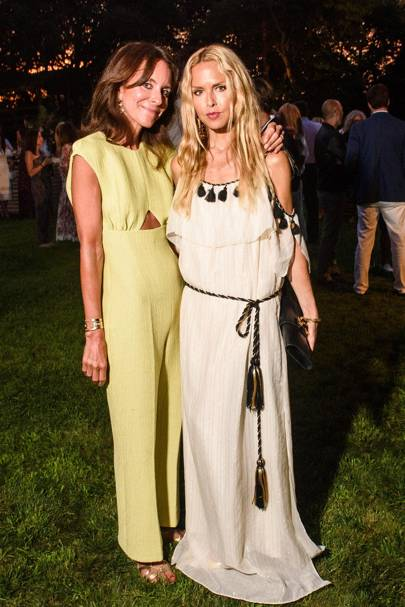 Alison Loehnis and Rachel Zoe