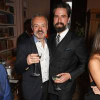 Graham Norton and Jack Guinness